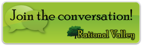 Join the conversation at Rational Valley