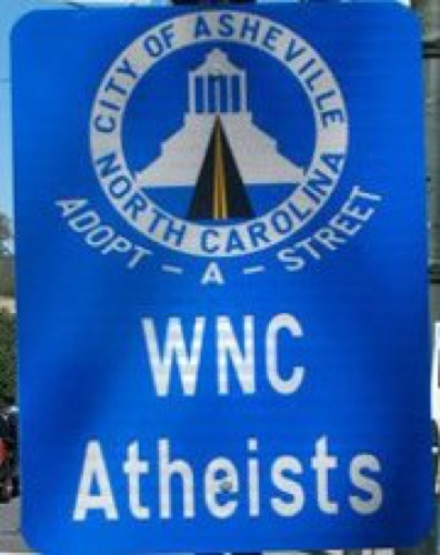 WNC Atheists Sign