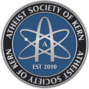 Logo for the Atheist Society of Kern.