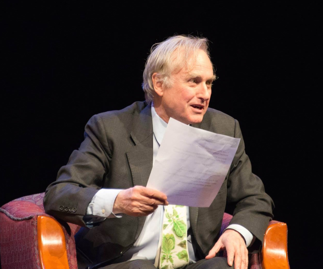Richard Dawkins visit