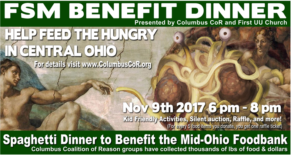 2017 FSM Benefit Dinner is Thursday, November 9, 2017 from 6:00 – 8:00 PM.