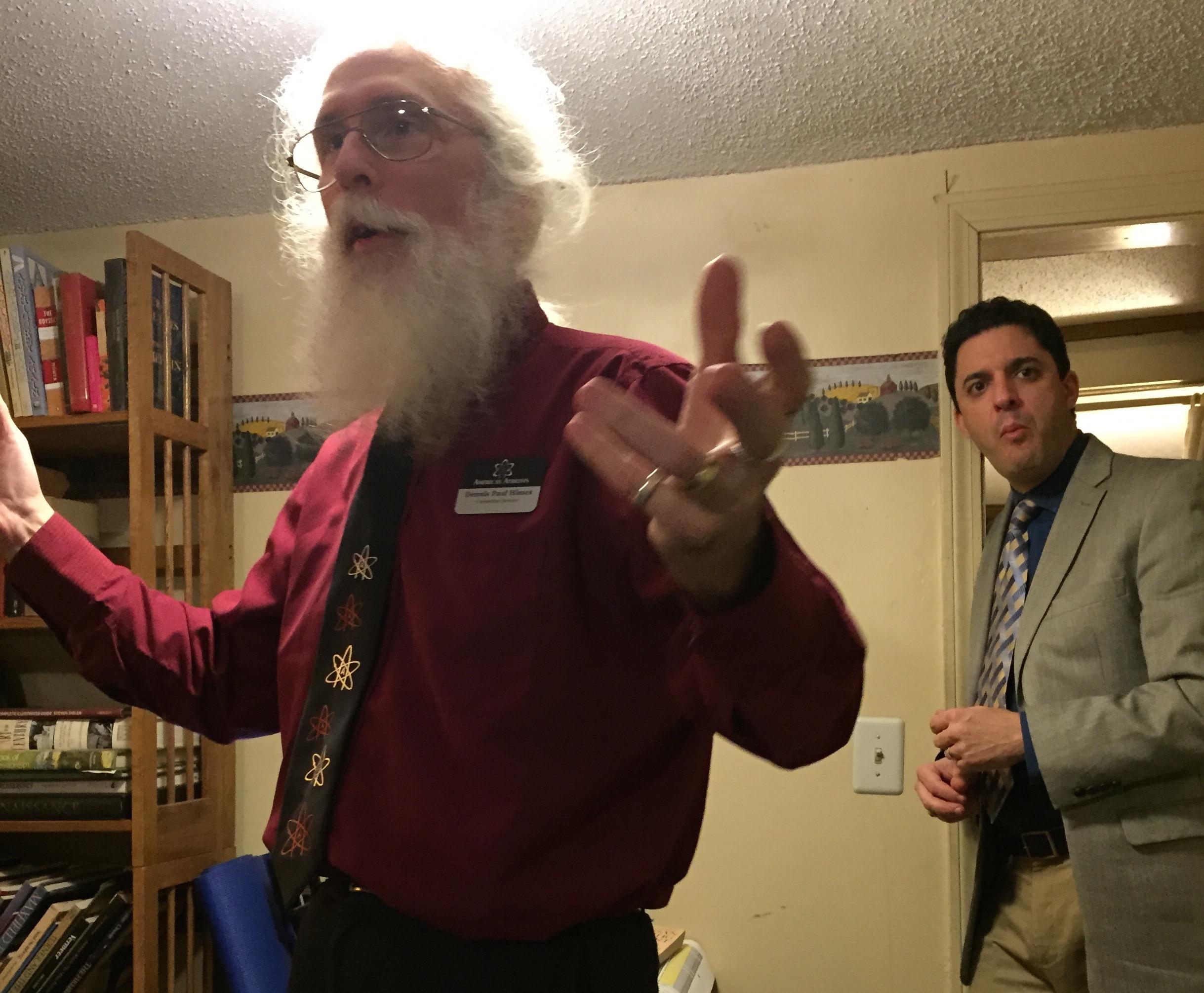 Davis Silverman's visit
