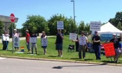 2 Iowa CoRs Demonstrating