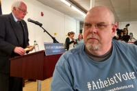 Bernie Sanders and an Atheist