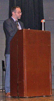 Dr. Emile Lester of the University of Mary Washington