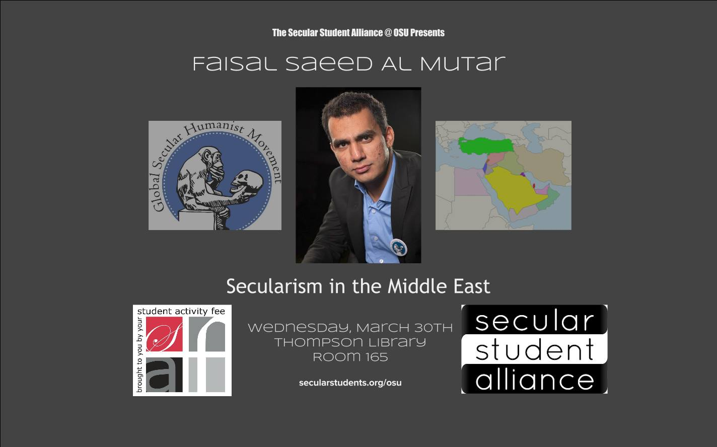 Secularism in the Middle East poster