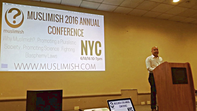 "Dr. Yasser Gowanyed, speaking on ""Muslimish: The Inevitable Grassroots Movement"""