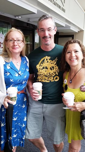 David and Jocelyn Williams and Yolanda Kauffmann of Hispanic-American Freethinkers (HAFree) Orlando—Orlando Coalition of Reason