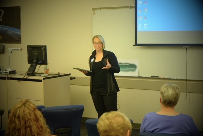 Iowa State Legislator Liz Bennet (D)—Cedar Rapids.