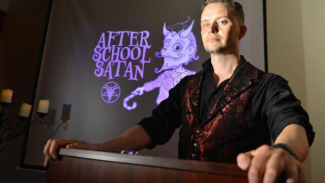 Interview: Lucien Greaves of The Satanic Temple - United CoR