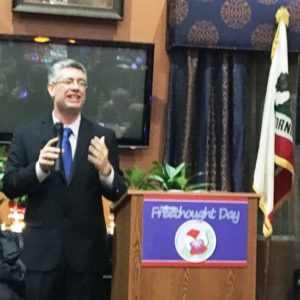 David Diskin of Sacramento CoR addresses the attendees at the Leadership Day event.