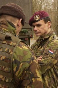 Lt. Col. Norbert de Kooter, Humanist Chaplaincy, Royal Dutch Marines
