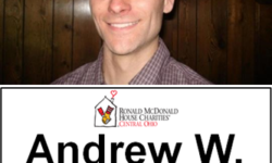 Andrew with RMHC/COUNT badge
