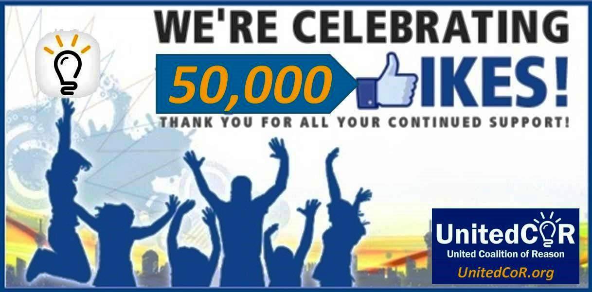 UnitedCoR's 50k Facebook Milestone - United CoR