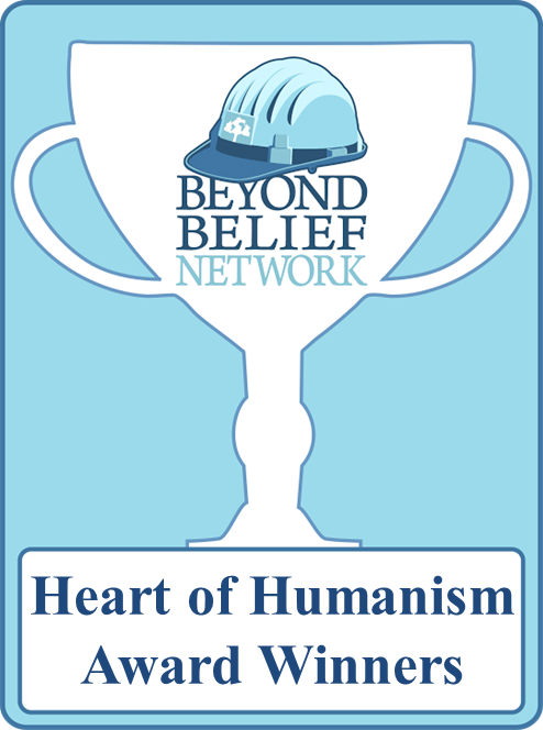 BBN Heart of Humanism Award trophy icon